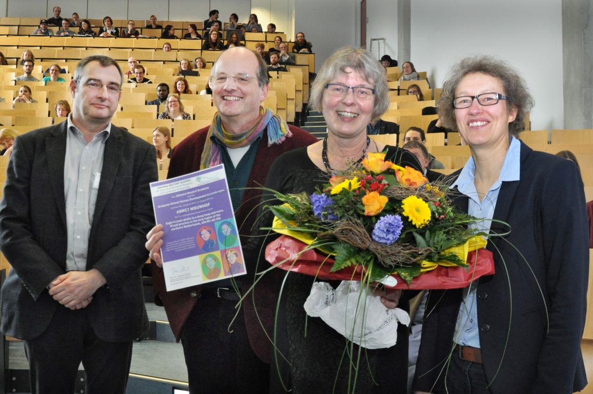 Johanna Mestorf Award handover ceremony 2017