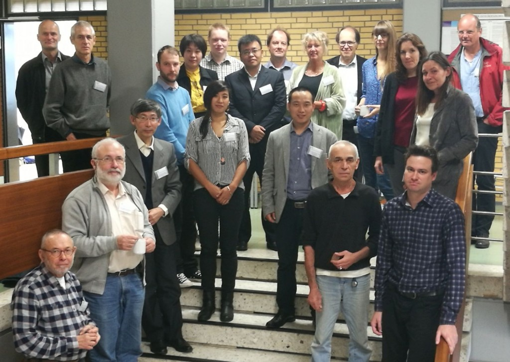 Participants of the Silk Road workshop in Kiel, September 28-29, 2017